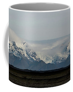 Mountain Range In Iceland  Coffee Mug