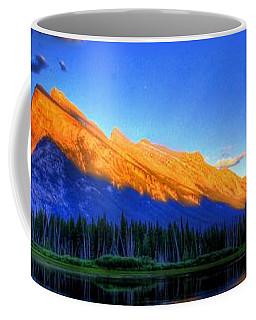 Mountain Reflection Coffee Mug by Sean McDunn