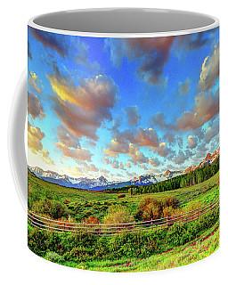 Mountain Skies Coffee Mug