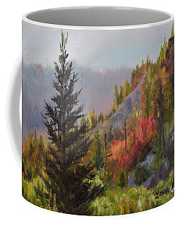 Mountain Slope Fall Coffee Mug