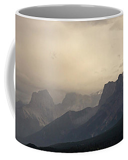 Coffee Mug featuring the photograph Mountain Storm by Inge Riis McDonald