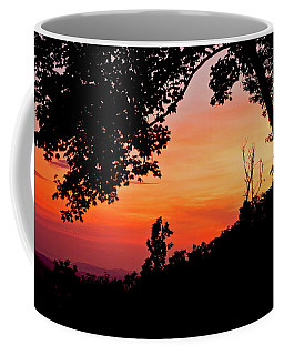 Coffee Mug featuring the photograph Mountain Sunrise by Meta Gatschenberger
