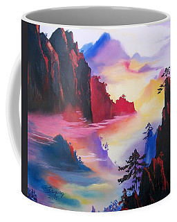 Mountain Top Sunrise Coffee Mug