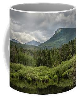 Mountain View From The Marsh Coffee Mug