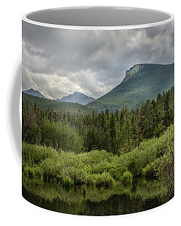Mountain View From The Marsh Coffee Mug