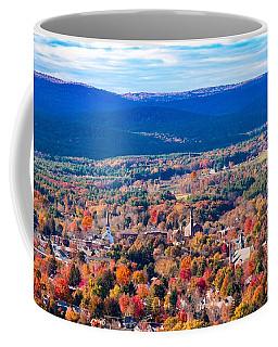 Coffee Mug featuring the photograph Mountain View Of Easthampton, Ma by Sven Kielhorn