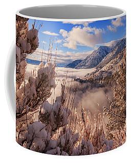Mountain Winter Inversion Dream Coffee Mug
