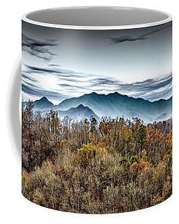 Coffee Mug featuring the photograph Mountains 2 by Walt Foegelle