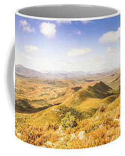 Mountains And Open Spaces Coffee Mug