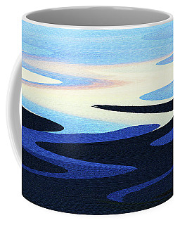 Mountains And Sky Abstract Coffee Mug