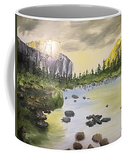Mountains And Stream Coffee Mug