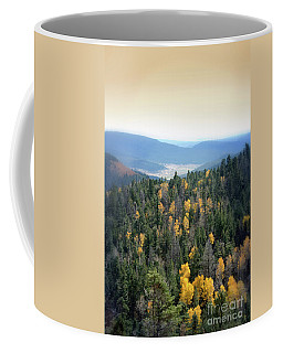 Coffee Mug featuring the photograph Mountains And Valley by Jill Battaglia