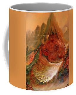 Mountains Fire Coffee Mug