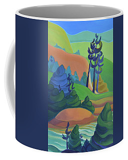 Hills In Spring Coffee Mug