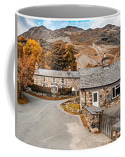 Mountains In The Back Yard Coffee Mug