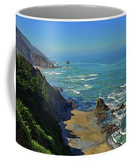 Mountains Meet The Sea Coffee Mug