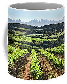 Mountains Of Montserrat Catalunya Coffee Mug by Gina Dsgn