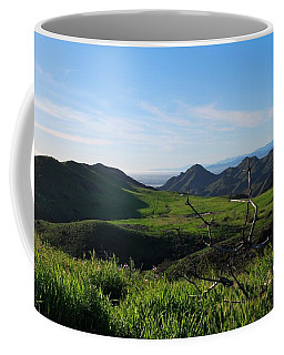 Coffee Mug featuring the photograph Mountains To Valley View by Matt Harang