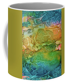 Mountains, Trees, Icy Seas Coffee Mug