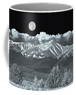 Mountains, When High Enough And Tough Enough, Measure Men.  Coffee Mug