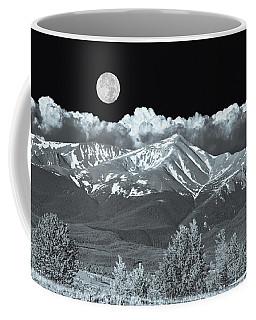 Mountains, When High Enough And Tough Enough, Measure Men.  Coffee Mug