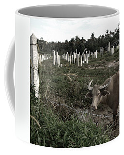Mourning In The Palm-tree Graveyard Coffee Mug
