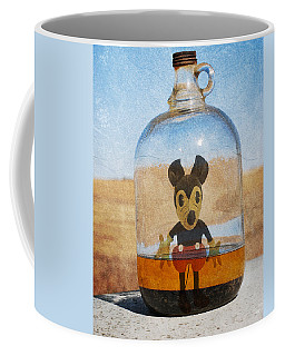 Mouse In A Bottle  Coffee Mug