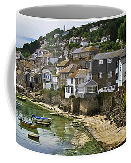 Mousehole Harbour, Cornwall Coffee Mug