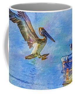 Move Over Coffee Mug by Deborah Benoit