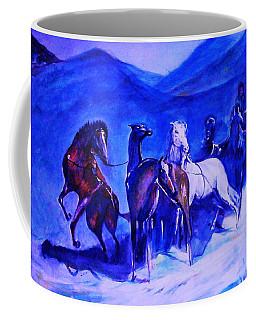 Move Over. Coffee Mug by Khalid Saeed
