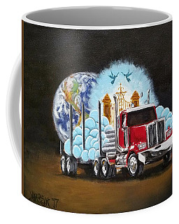 Moving Heaven And Earth  Coffee Mug