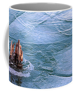 Moving Ice In Winter 2017 Coffee Mug by Mary Bedy
