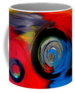 Moving Through Time And Space Coffee Mug