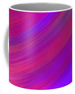 Moving To Purple Coffee Mug by Samantha Thome