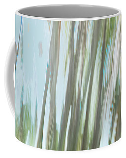 Moving Trees 16 Carry-on Landscape Format Coffee Mug