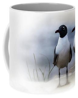 Mr And Mrs Laughing Gull Coffee Mug by Mary Lou Chmura