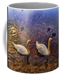 Mr And Mrs Swan Go Viisiting Coffee Mug