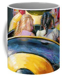 Mr. Bee Takes Some Friends For A Ride Coffee Mug
