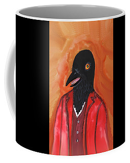 Mr. Crow's Portrait Coffee Mug