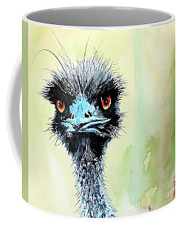 Coffee Mug featuring the painting Mr. Grumpy by Tom Riggs
