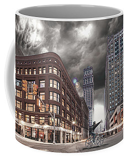 Coffee Mug featuring the photograph Mr. Jason Hall 2015 by Nicholas  Grunas