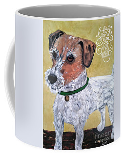 Mr. R. Terrier Coffee Mug by Reina Resto