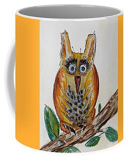 Mr.orange Owl Coffee Mug