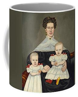 Mrs Paul Smith Palmer And Her Twins Coffee Mug