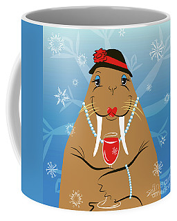 Mrs. Walrus Coffee Mug