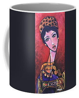 Ms. Bimba Fashionable Seamstress Coffee Mug