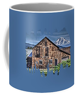 Coffee Mug featuring the photograph Mt. Adams by Thom Zehrfeld