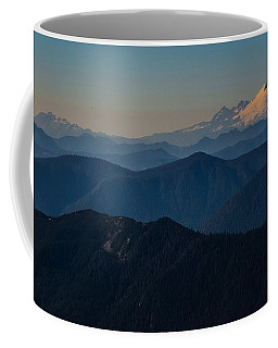 Mt. Baker From Mt. Pilchuck Coffee Mug