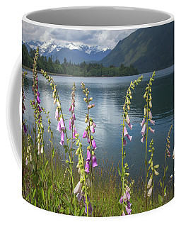 Coffee Mug featuring the photograph Mt Baker Lake by Jacqui Boonstra