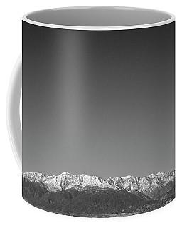 Mt Baldy Range Coffee Mug
